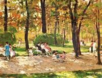 ősszel a parkban by ferenc gaal