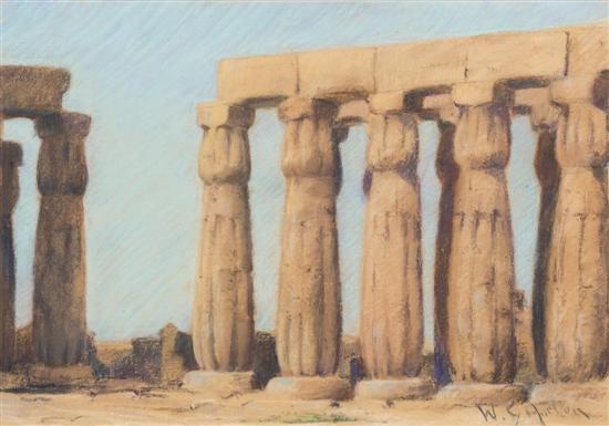 temple ruins by william samuel horton