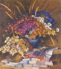 summer flowers by oleg ardimasov