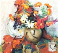 still life of flowers by lena alexander