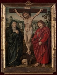 crucifixion by flemish school (15)