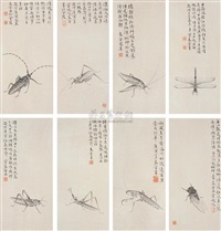 like insects (8 works) by guan chunlei