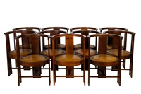 set of eleven armchairs by eliel saarinen