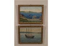 nova scotia (+ another; 2 works) by bissell phelps smith