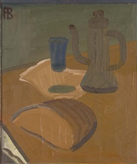 still life with a coffee kettle by richard vasmi