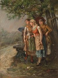 schutz vor dem regen by hans sellenati