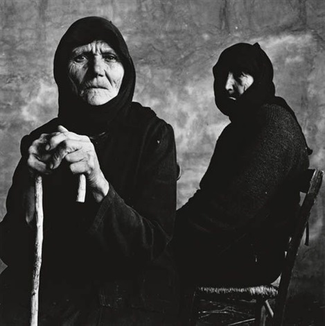 two cretan women by irving penn