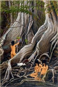 amazoniennes en forêt tropicale by claude rabanit