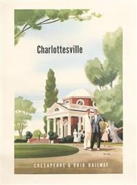 charlottesville/chesapeake & ohio railway by bern hill