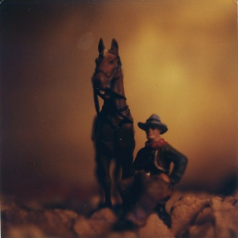 untitled (from wild west; 5 works) by david levinthal