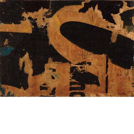 untitled by mimmo rotella