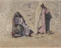 zwei nordafrikanerinnen by karl hofmann