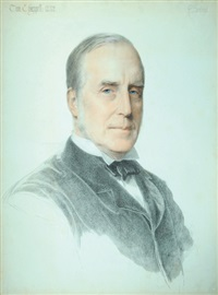 portrait of tom chappell by anthony frederick augustus sandys