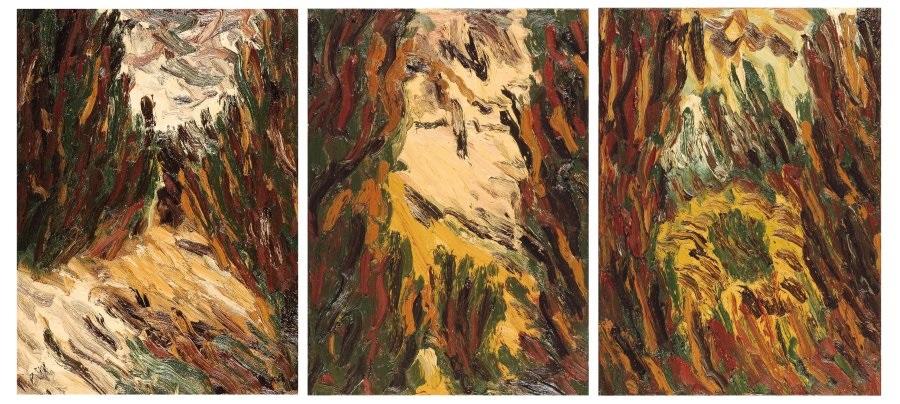 schelpenhoek muidenberg i ii en iii triptych by jan de beus