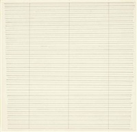 untitled (n.19) by agnes martin