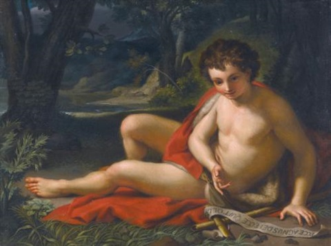 saint john the baptist in the desert by anton raphael mengs