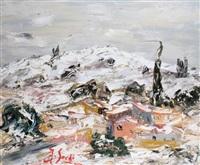 neige en provence by jean sardi