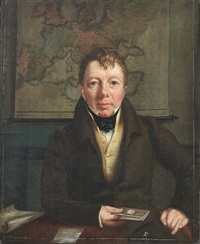 portrait of frederick bowman by walter scott