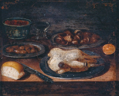 frühstücksstillleben by osias beert the elder