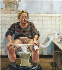 self portrait by jenny saville