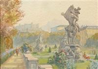 salzburg-mirabellgarten by anton filzmoser