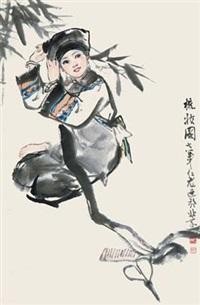 梳妆图 by xu renlong