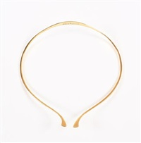 torque necklace by bent gabrielsen