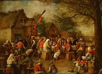 boerenbruiloft by joseph schippers