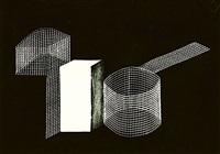 untitled - abstract shapes study by kurt kranz