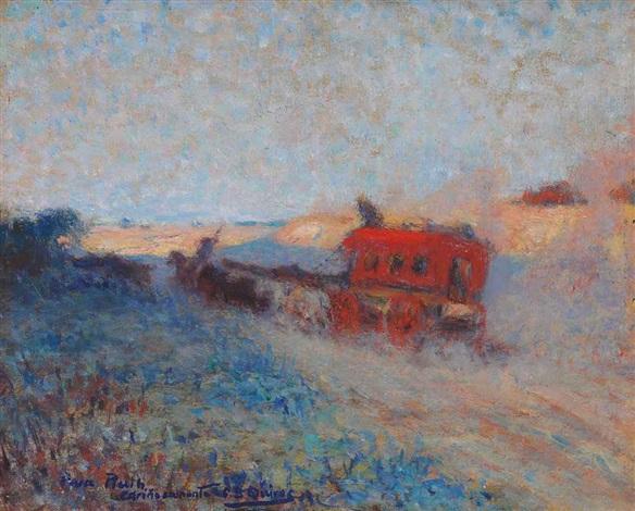 stagecoach by cesáreo bernaldo de quirós