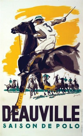 saison de polo deauville by michel jacquot