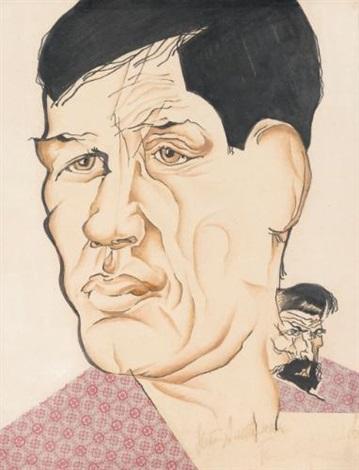 portrait of the poet boris kornilov by natan isaevich altman