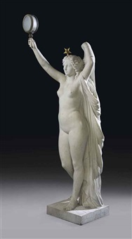 figural torchere by charles raphael peyre