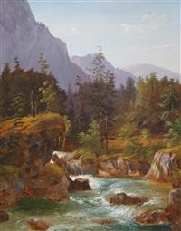 waldbach by julius abbiati