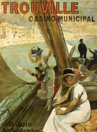 trouville - casino municipal by félix fournery