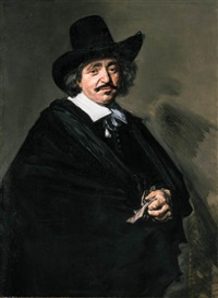 portrait of a gentleman by frans hals the elder