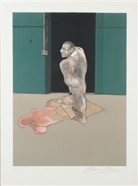 etude pour le portrait de john edwards by francis bacon