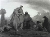 saintes femmes au golgotha by laurens