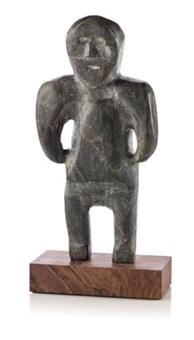 standing figure by john kavik