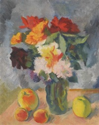 flowers and apples by nikolai andreevich tyrsa