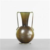 vase by ystad metall