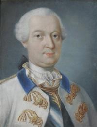 brustbild des kurfürsten carl theodor by anton (johann anton) axmann