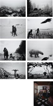 the origins of love (8 works) by hiroshi sugimoto
