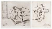 planches originales de suzanne valadon (portfolio of 18) by suzanne valadon