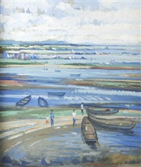 ebbing tide, co. galway by brian quinn