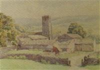 marrick, yorkshire by bernard cecil gotch
