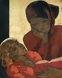 vietnamienne et son enfant by alix aymé