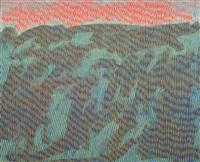 o.t. (blaue landschaft) by detlef aus dem kahmen