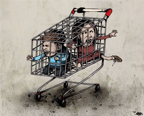attention animaux sauvages by dran