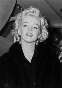 marilyn monroe on honeymoon, tokyo (set of 3) by kashio aoki
